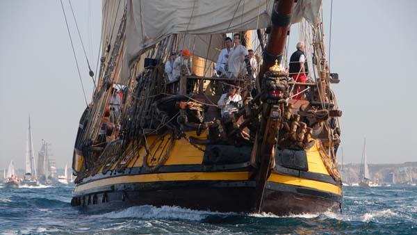 Shtandart, Volker Gries, Sail Brest 2016 , 07/2016
