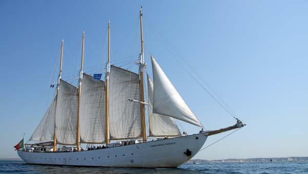Santa Maria Manuela, Volker Gries, Sail Brest 2016 , 07/2016