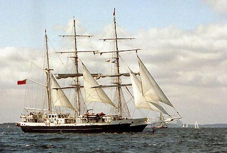 Lord Nelson, Volker Gries, Sail Travemünde / Cutty Sark 2003 , 08/2003