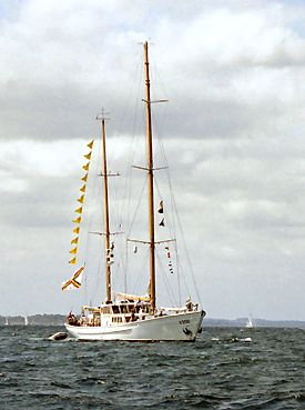 Zenobe Gramme, Volker Gries, Sail Travemünde / Cutty Sark 2003 , 08/2003