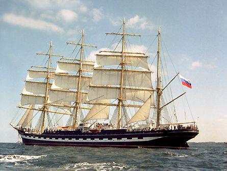 Kruzenshtern, Volker Gries, Sail Travemünde / Cutty Sark 2003 , 08/2003