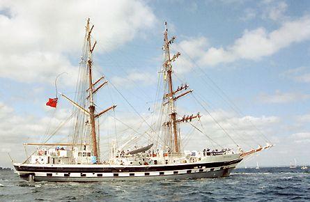 Rah Naward, Volker Gries, Sail Travemünde / Cutty Sark 2003 , 08/2003