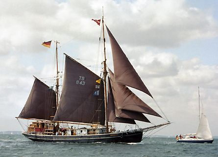 Seute Deern II, Volker Gries, Sail Travemünde / Cutty Sark 2003 , 08/2003