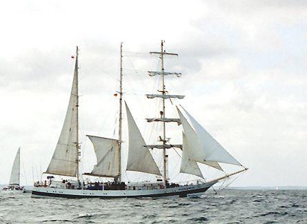 Pogoria, Volker Gries, Sail Travemünde / Cutty Sark 2003 , 08/2003
