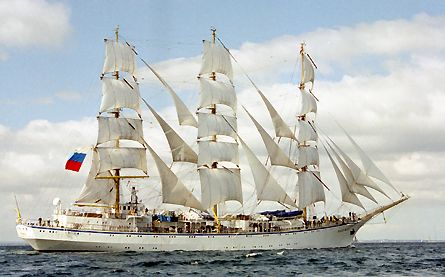 Nadezhda, Volker Gries, Sail Travemünde / Cutty Sark 2003 , 08/2003