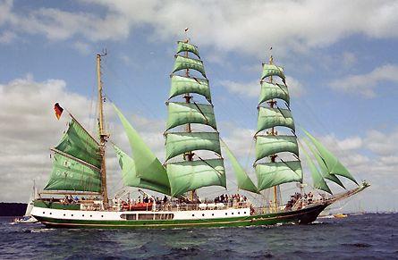Alexander von Humboldt, Volker Gries, Sail Travemünde / Cutty Sark 2003 , 08/2003