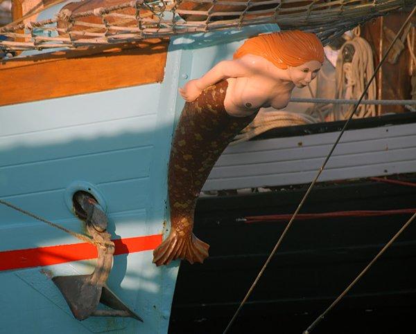La Reine des Flots, Volker Gries, Festival Temps Fête sur Douarnenez 2012 , 07/2012