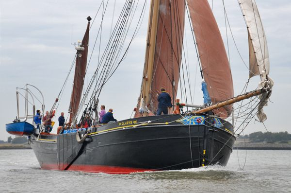 Gladys, Volker Gries, Colne Smack and Barge Match Race, Brightlingsea, GB , 09/2006