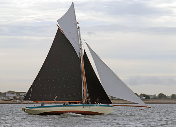 Alberta CK318, Volker Gries, Colne Smack and Barge Match Race, Brightlingsea, GB , 09/2006
