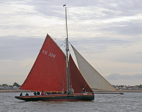 Sunbeam CK328, Volker Gries, Colne Smack and Barge Match Race, Brightlingsea, GB , 09/2006