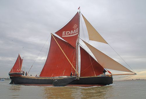 Edme, Volker Gries, Colne Smack and Barge Match Race, Brightlingsea, GB , 09/2006