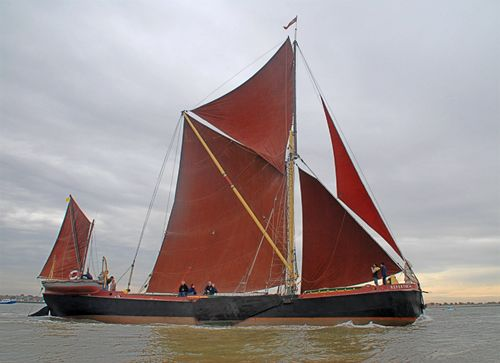 Repertor, Volker Gries, Colne Smack and Barge Match Race, Brightlingsea, GB , 09/2006