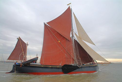 Marjorie, Volker Gries, Colne Smack and Barge Match Race, Brightlingsea, GB , 09/2006