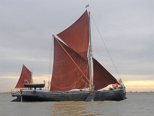 Betula, Volker Gries, Colne Smack and Barge Match Race, Brightlingsea, GB , 09/2006