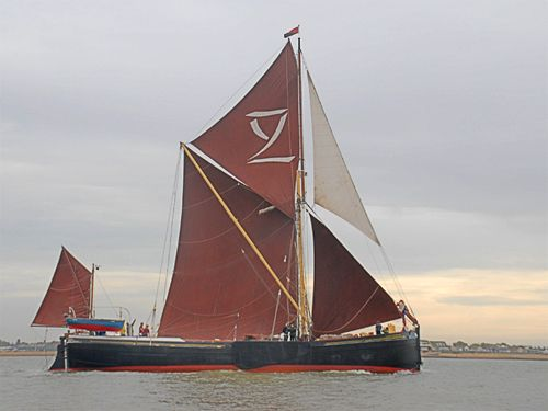 Lady Daphne, Volker Gries, Colne Smack and Barge Match Race, Brightlingsea, GB , 09/2006