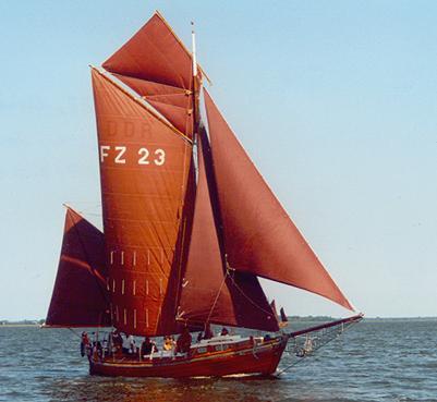 FZ23 Stella, Volker Gries, Barther Zeesbootregatta , 07/2001