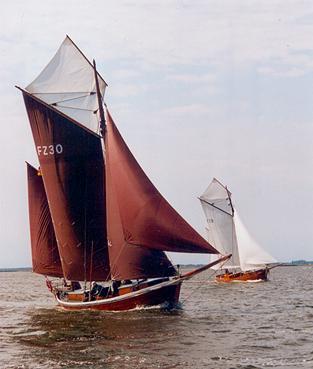 FZ30 Holzerland, Volker Gries, Barther Zeesbootregatta , 07/2001