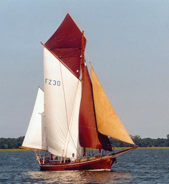 FZ3 Störtebeker, Volker Gries, Barther Zeesbootregatta , 07/2001