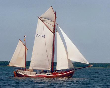 FZ40 Hoffnung, Volker Gries, Barther Zeesbootregatta , 07/2001