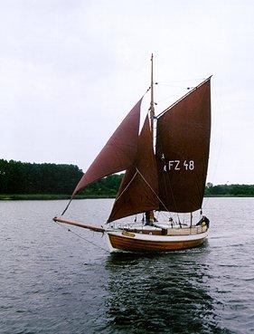 FZ48 Annegret, Volker Gries, Warnow, Rostock , 08/1999