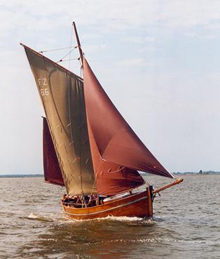 FZ66 Charlotte, Volker Gries, Barther Zeesbootregatta , 07/2001