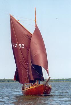 FZ82 Oma Else, Volker Gries, Barther Zeesbootregatta , 07/2001