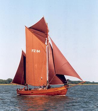 FZ84 Paula, Volker Gries, Barther Zeesbootregatta , 07/2001