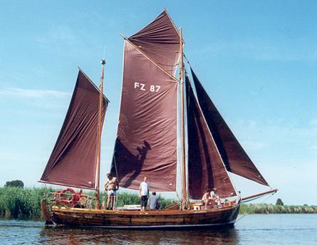 FZ87 Irmchen, Volker Gries, Barther Zeesbootregatta , 07/2001
