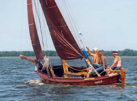 FZ92 Traudi, Volker Gries, Barther Zeesbootregatta , 07/2001