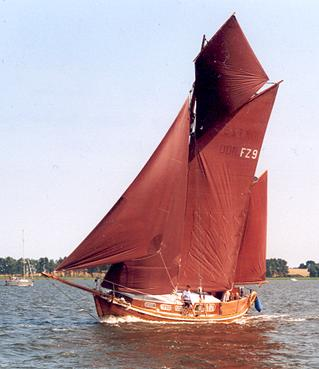 FZ9 Nordstern, Volker Gries, Barther Zeesbootregatta , 07/2001
