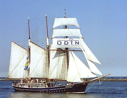 Santa Barbara Anna, Volker Gries, Hanse Sail Rostock 2003 , 08/2003