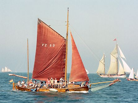 FZ60 Sophia-Theresa, Volker Gries, Hanse Sail Rostock 2003 , 08/2003