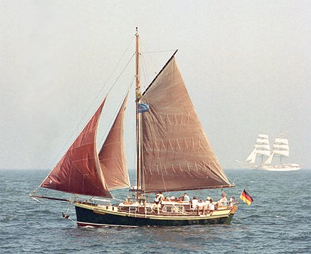 Canta Libre, Volker Gries, Hanse Sail Rostock 2003 , 08/2003