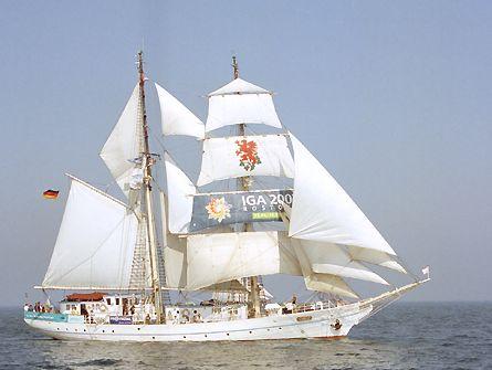 Greif, Volker Gries, Hanse Sail Rostock 2003 , 08/2003