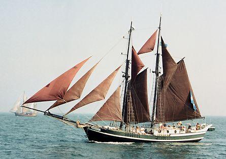 Ernestine, Volker Gries, Hanse Sail Rostock 2003 , 08/2003