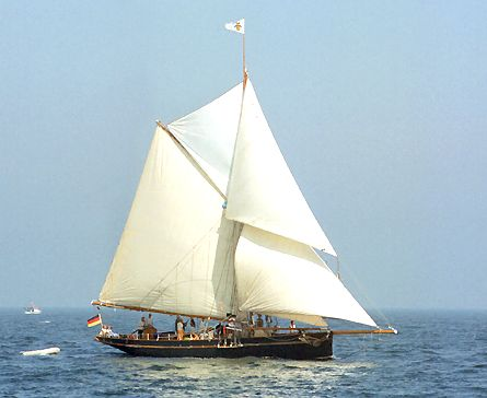 Willow Wren, Volker Gries, Hanse Sail Rostock 2003 , 08/2003