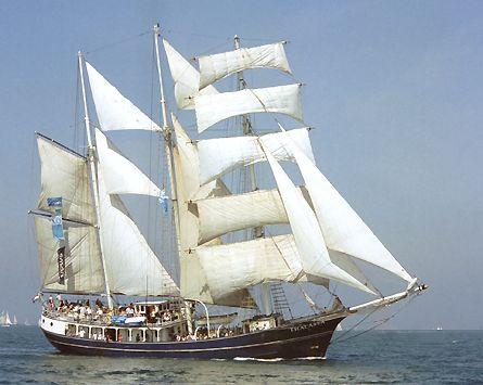 Thalassa, Volker Gries, Hanse Sail Rostock 2003 , 08/2003