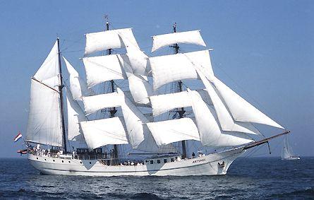 Artemis, Volker Gries, Hanse Sail Rostock 2003 , 08/2003