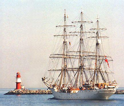 Christian Radich, Volker Gries, Hanse Sail Rostock 2003 , 08/2003