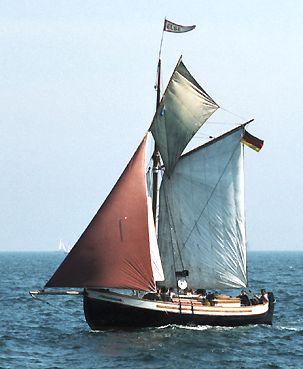 Else af Sletten, Volker Gries, Hanse Sail Rostock 2003 , 08/2003