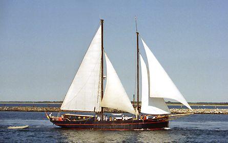 Ethel von Brixham, Volker Gries, Hanse Sail Rostock 2003 , 08/2003