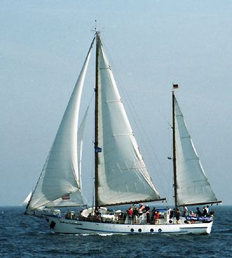 Greif von Ueckermünde, Volker Gries, Hanse Sail Rostock 2003 , 08/2003
