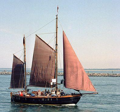 Isamar, Volker Gries, Hanse Sail Rostock 2003 , 08/2003