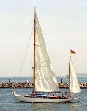 Peter von Seestermühe, Volker Gries, Hanse Sail Rostock 2003 , 08/2003