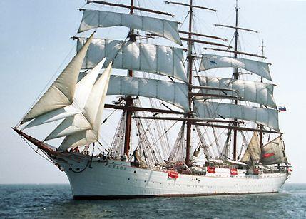 Sedov, Volker Gries, Hanse Sail Rostock 2003 , 08/2003
