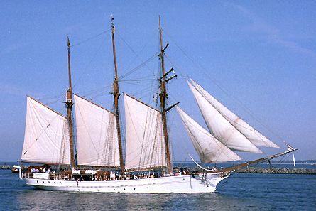 Lady Ellen, Volker Gries, Hanse Sail Rostock 2003 , 08/2003