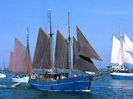 Gotland, Volker Gries, Hanse Sail Rostock 2003 , 08/2003