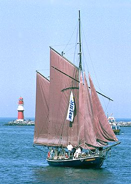 Concordia, Volker Gries, Hanse Sail Rostock 2003 , 08/2003