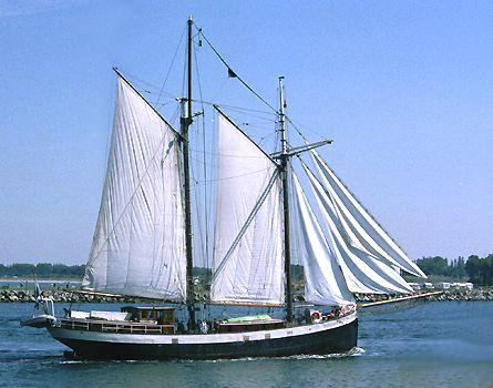 Marie Galante, Volker Gries, Hanse Sail Rostock 2003 , 08/2003