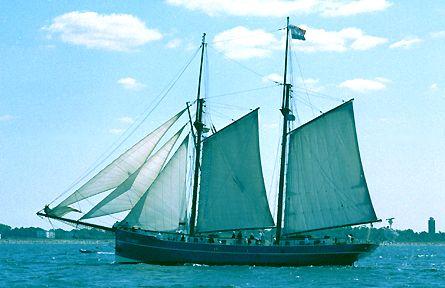 Luciana, Volker Gries, Hanse Sail Rostock 2003 , 08/2003
